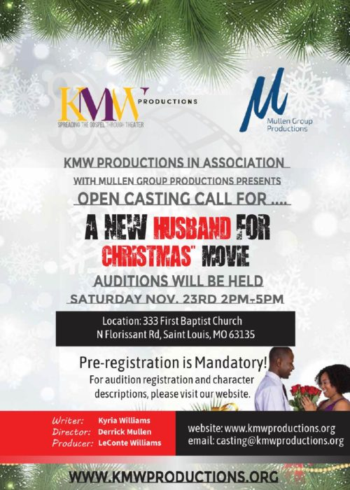 Casting Call Flyer